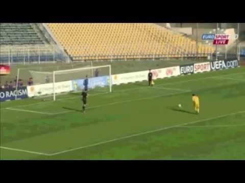 Лука Зидан не забил пенальти в стиле Паненки