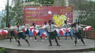 2010客家桐花祭啟動記者會開幕表演-童軍雙旗舞.mpg