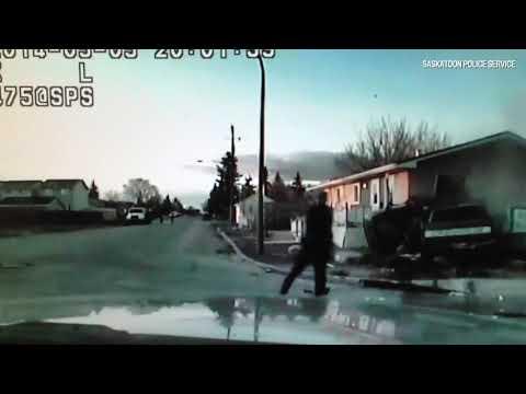 Police footage of Peeteetuce accident
