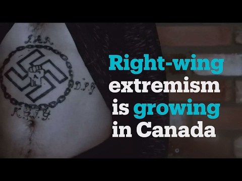 Right-wing extremism on the rise in Canada