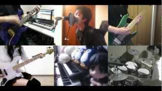 Repeat youtube video [HD]Sword Art Online OP [crossing field] Band cover