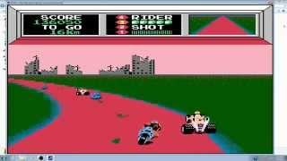 Vs  Mach Rider Arcade Game