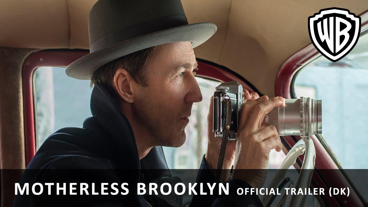 Motherless Brooklyn - Official Trailer (DK)