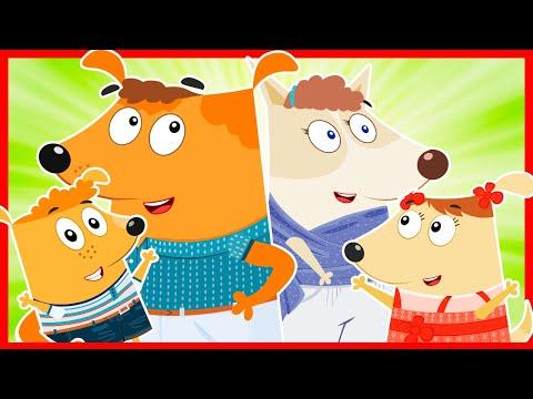 Официальная песня ГАВ-ГАВ-ГАВ | Песни для детей | Любимая песня детей из мультика Семейка собачек