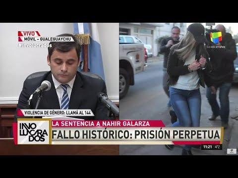 La sentencia de Nahir Galarza: condenada a prisión perpetua
