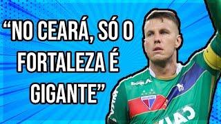 """""""NO CEARÁ, SÓ O FORTALEZA É GIGANTE""""  - Marcelo Boeck"""