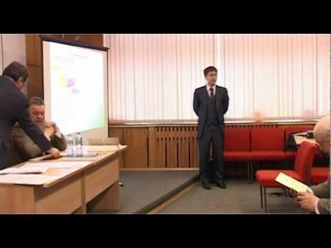 Защита кандидатской диссертации Крапова Владимира  Защита кандидатской диссертации Крапова Владимира