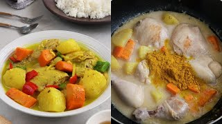 How to Make Filipino-style Chicken Curry