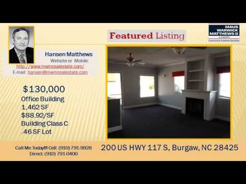 Office Space for Sale US HWY 117 28525