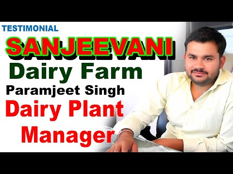 Testimonial Of Dairy Plant Manager Of Dairy Farm. Mini Dairy Installed At Dairy Farm For Processing