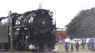 NKP 765 & PM 1225 doubleheader excursion - Oct 3 2009 - Part 3