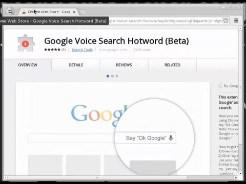 Google Voice Search Tutorial How to Install Google Chrome