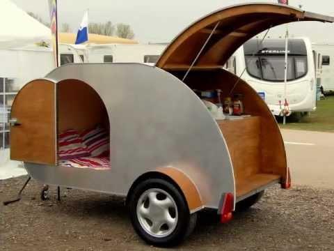 Teardrop camper caravan trailer build how to YouTube