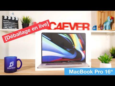 """On Déballe Le MacBook Pro 16"""" En Live !"""