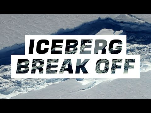 The biggest iceberg breaks off Antarctica's Larsen C ice shelf