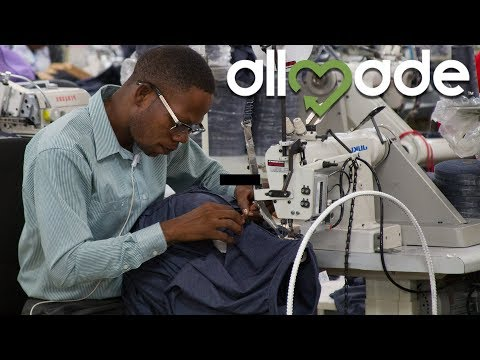 Making A Better Shirt In Haiti With Allmade