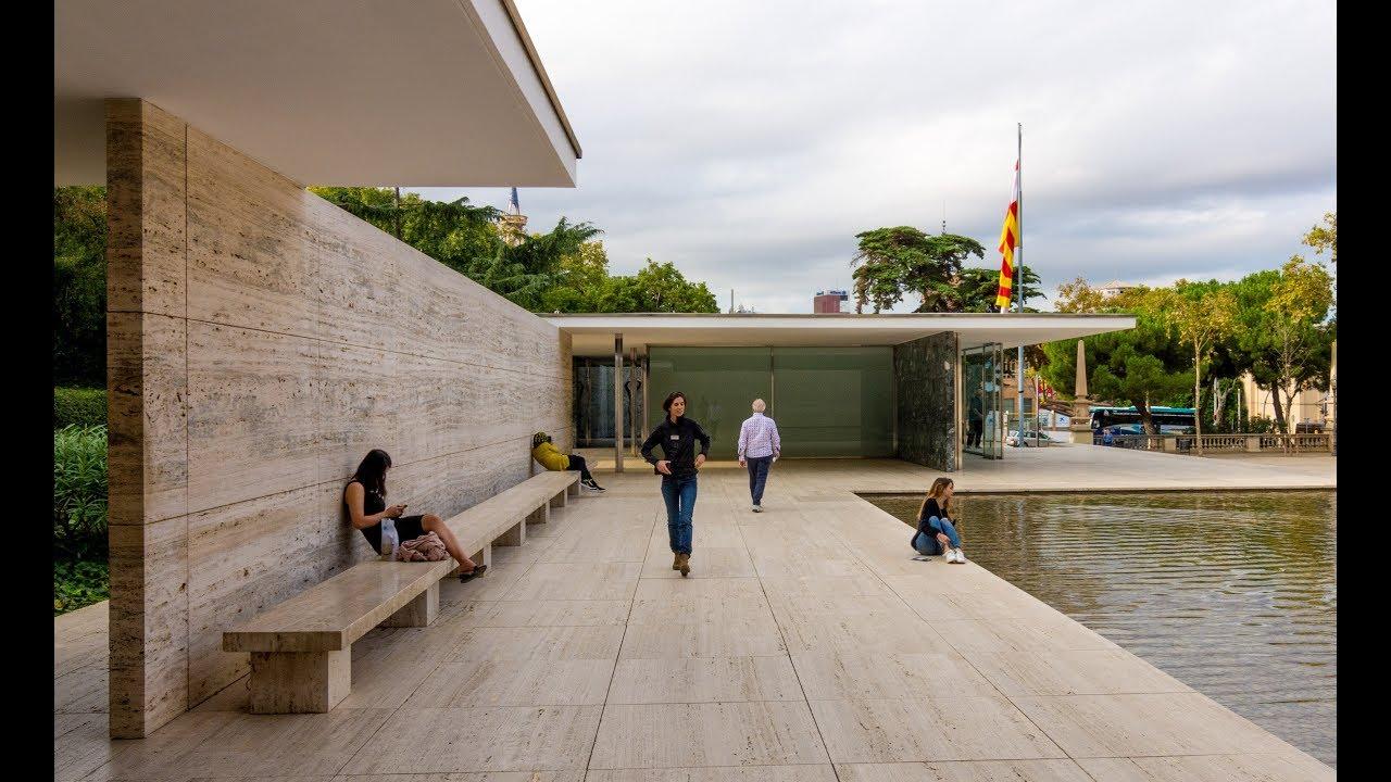 Barcelona Pavilion Mies Van Der Rohe Youtube