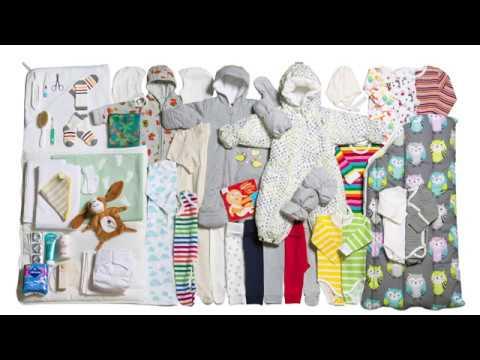 BABY BOX 2017 - FINNISH BABY BOX (UNBOXING)