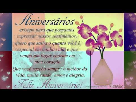Video Mensagem de Aniversário Romântica para Esposo Voz Feminina - Video Mensagem de Aniversário