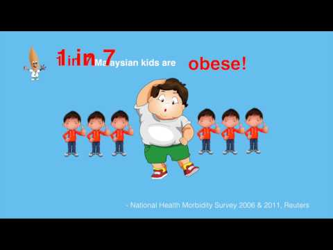 Malaysian kids suffered obesity & chronic constipation!
