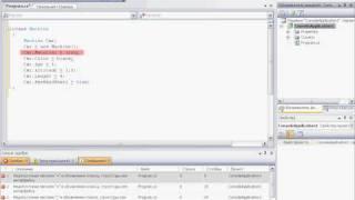 Свойства объектов в Visual C# 2008 (5/11)
