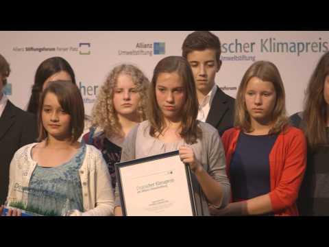 Deutscher Klimapreis der Allianz Umweltstiftung 2013