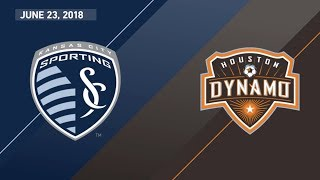 HIGHLIGHTS: Sporting Kansas City vs. Houston Dynamo | June 23, 2018