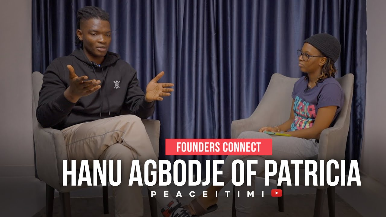 Download #FoundersConnect: Interview with Hanu Agbodje, the Founder and CEO of Patricia
