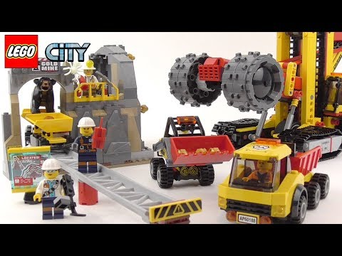 LEGO City Mining Experts Site - Playset 60188 Toy Unboxing & Speed Build