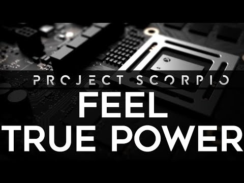 Xbox Scorpio E3 Teaser Trailers - Feel True Power