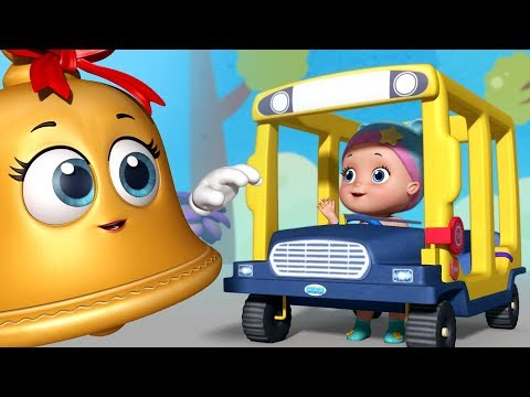 Wheels on the Bus Baby with Magic Bells | Infobells Rhymes for Children