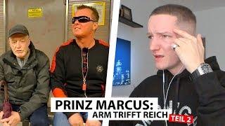 Justin reagiert auf Prinz Marcus trifft Obdachlosen (Teil 2) | Reaktion