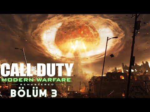 ATOM BOMBASI !   Call of Duty 4 Modern Warfare Remastered Türkçe Bölüm 3