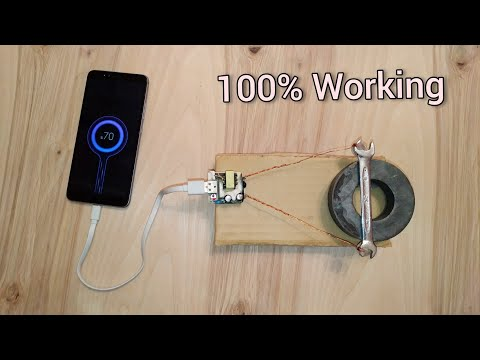 Free Energy - Charge Your Phone For Free - How To Make a Free Energy Machine At Home