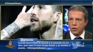"""Soria: """"Sergio Ramos es sevillista, esta situación no se puede consentir"""""""