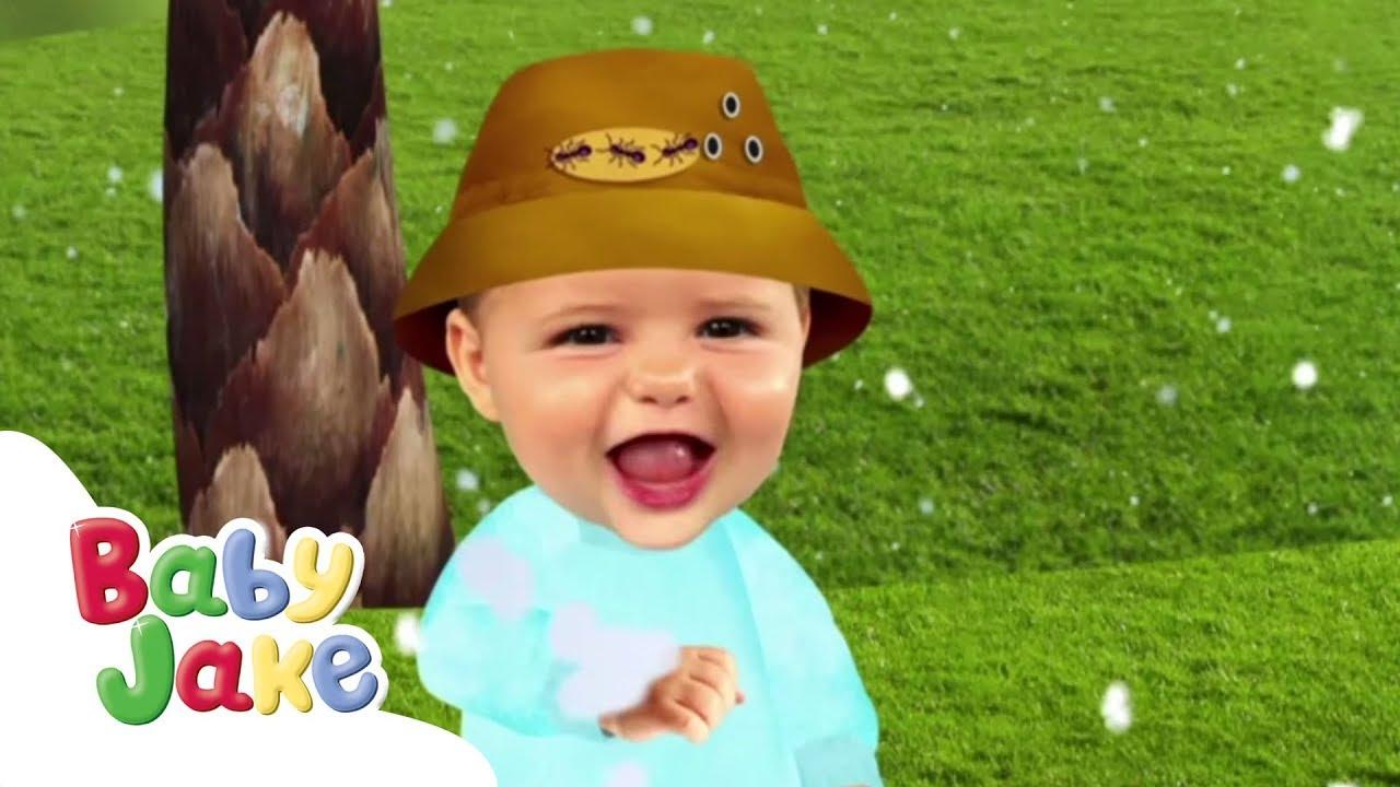 Baby Jake - Snowing in Jungle   Full Episodes   Yacki ...
