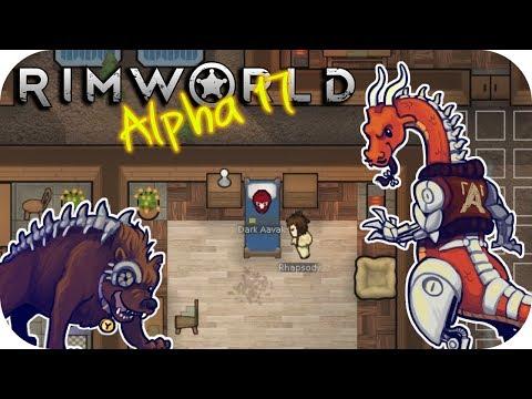 Rimworld Alpha 17 – 8  Epidemic! – Let's Play Rimworld