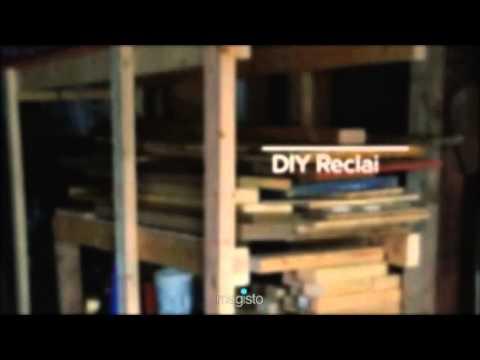 DIY Lumber Rack: Reclaimed Wood