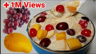 Creamy Fruit Salad! (Secret ingredient) Sobrang Sarap! | Must try! | Kusina ni Lola
