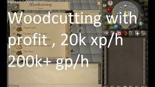 Osrs Woodcutting Money Making 200k+ per hour