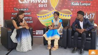 Interview of Prithika and Bhavin from Star Vijay's Junior Super Singer