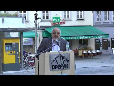 Die Schaltzentrale der US- Drohnen-Morde steht in Ramstein! -Aufrüstung verhindern! -Jürgen Grässlin