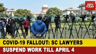 Supreme Court Lawyers Won't Work Till April 4 As COVID-19 Lockdowns Delhi
