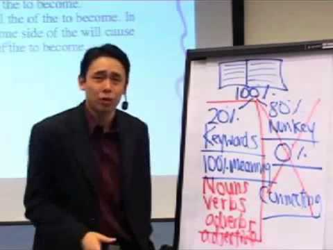 Adam Khoo - How to Condense Information - learn how to read fast and effectively