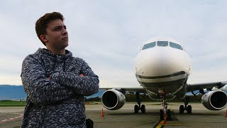 FLYING ON A PRIVATE JET!?