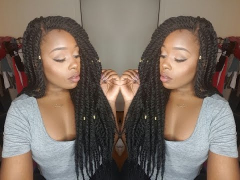 Sensationnel Braided Lace Wig  Senegal Locks  Review