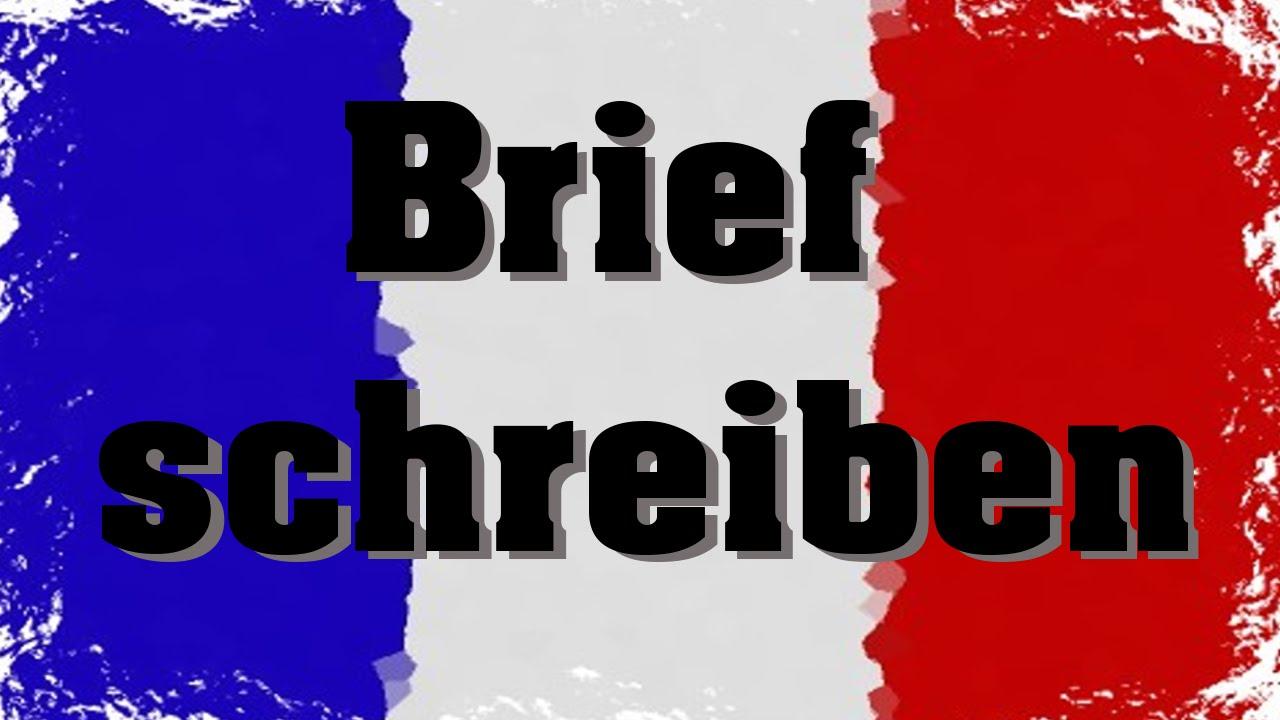 Brief Schreiben Auf Französisch Tipps Tricks Youtube
