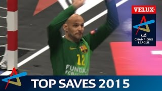 Top 30 Saves of 2015 | VELUX EHF Champions League