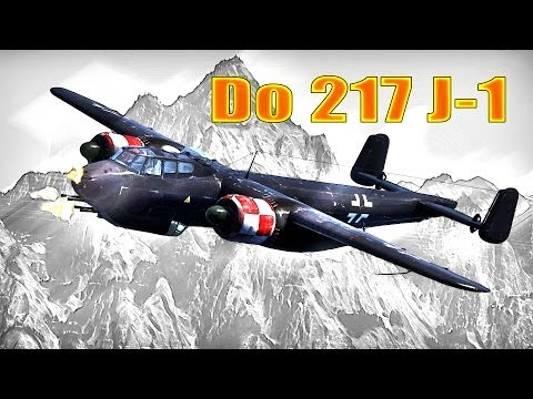 War Thunder: Do 217 J-1, Tier-2 / Rank-2 Review