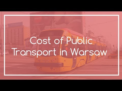 Guide to Public Transport Tickets in Warsaw